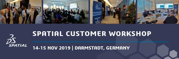 Event Header - Darmstadt Customer Workshop 2019-2