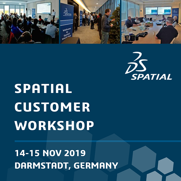 Spatial Customer Workshop in Darmstadt, Germany